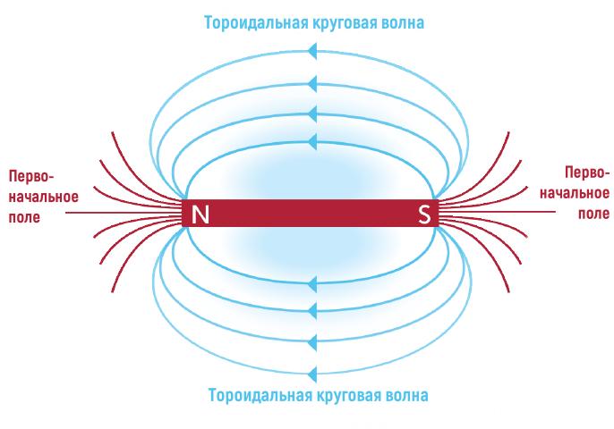 Тороидальное поле пульсирующей энергии cm2 - тороидальный трансформатор
