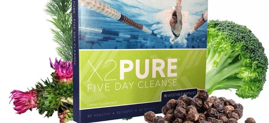Очищение организма детокс x2 pure